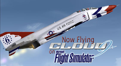 Click Here to see More F-4 Phantom Thunderbird Cloud9 Screen Shots!
