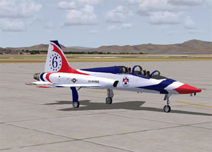 The First Thunderbird F-84G Thunderjet (1953-1954)